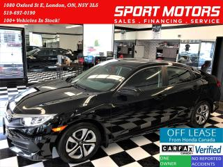 Used 2017 Honda Civic LX+ApplePlay+Camera+New Brakes+ACCIDENT FREE for sale in London, ON