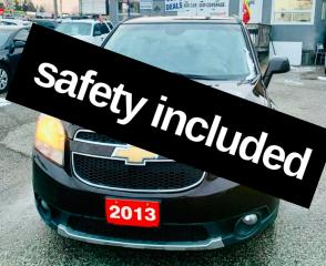 Used 2013 Chevrolet Orlando LT,safety included for sale in Scarborough, ON