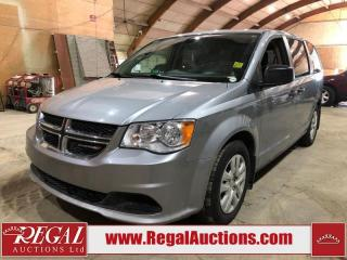 Used 2018 Dodge Grand Caravan CVP 4D VAN FWD for sale in Calgary, AB