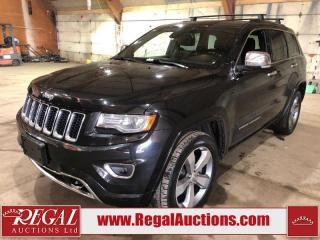 Used 2014 Jeep Grand Cherokee Overland 4D Utility 4WD for sale in Calgary, AB