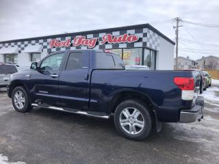 Used 2011 Toyota Tundra Limited 5.7L Double Cab 4WD Leather, Bluetooth for sale in Saskatoon, SK