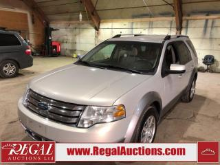 Used 2009 Ford Taurus X SE 4D UTILITY for sale in Calgary, AB