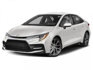 New 2021 Toyota Corolla SE Upgrade for sale in Winnipeg, MB