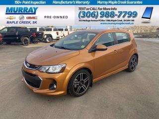 Used 2017 Chevrolet Sonic Premier for sale in Maple Creek, SK