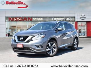 Used 2017 Nissan Murano PLATINUM AWD, 1 OWNER LOCAL TRADE,TOP OF THE LINE for sale in Belleville, ON