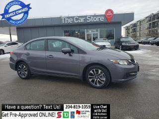 Used 2015 Honda Civic Sedan EX SUNROOF HTd Seat Rear CAm CLEAN TITLE for sale in Winnipeg, MB