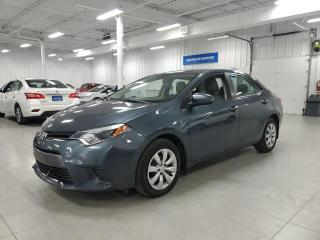 Used 2016 Toyota Corolla LE - CAMERA + SIEGES CHAUFFANTS + JAMAIS ACCIDENTE for sale in Saint-Eustache, QC