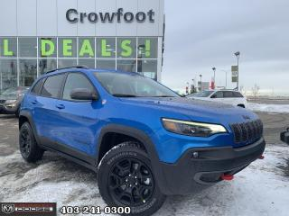 New 2021 Jeep Cherokee Trailhawk for sale in Calgary, AB