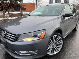 Used 2015 Volkswagen Passat Comfortline TDI SPORT PKG 8 TO CHOOSE for sale in Concord, ON