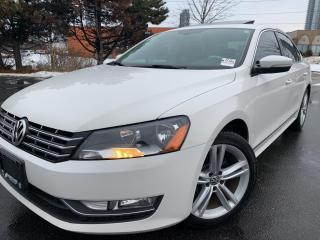 Used 2015 Volkswagen Passat Highline TDI NAVIGATION BACK UP CAM FENDER SOUND S for sale in Concord, ON