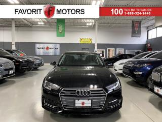 Used 2018 Audi A4 Komfort|QUATTRO|SUNROOF|LEATHER|HEATED SEATS|+++ for sale in North York, ON