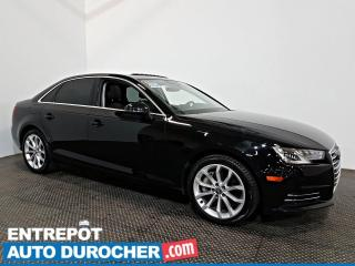 Used 2017 Audi A4 Progressiv AWD NAVIGATION - Toit Ouvrant - A/C - for sale in Laval, QC