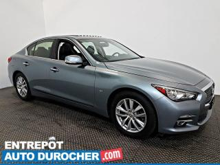 Used 2015 Infiniti Q50 Sport AWD 3.7L AWD Navigation - Toit Ouvrant - A/C for sale in Laval, QC