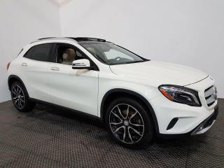 Used 2017 Mercedes-Benz GLA GLA 250 AWD - NAVIGATION - TOIT OUVRANT - CUIR for sale in Laval, QC