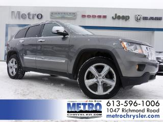 Used 2011 Jeep Grand Cherokee Overland 4x4 LOADED for sale in Ottawa, ON