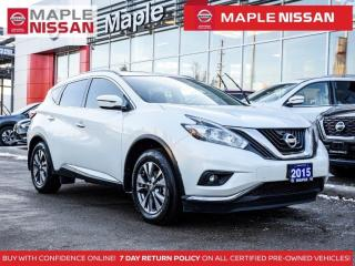 Used 2015 Nissan Murano SV Navi Bluetooth Remote Start Backup Camera for sale in Maple, ON