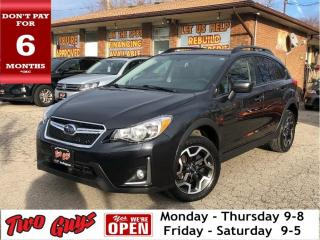 Used 2016 Subaru XV Crosstrek Touring   Auto   Htd Seats   B/Up Cam   B/T   for sale in St Catharines, ON