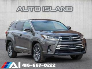 Used 2017 Toyota Highlander 3.9% FINANCE OAC!! XLE**AWD**NAV**LEATHER**SUNROOF for sale in North York, ON