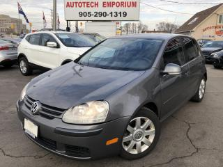 Used 2008 Volkswagen Rabbit 4-Door S Auto/Heated Seats/All Power/Trade in for sale in Mississauga, ON