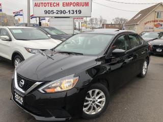 Used 2016 Nissan Sentra SV w/SUNROOF Camera/Heated Seats/Alloys/GPS* for sale in Mississauga, ON