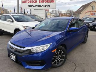 Used 2016 Honda Civic LX Auto Navigation/Camera/Heated Seats/Carplay for sale in Mississauga, ON