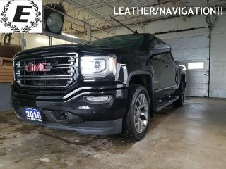 Used 2016 GMC Sierra 1500 SLT Crew Cab ALL TERRAIN/LEATHER/NAVIGATION!! for sale in Barrie, ON