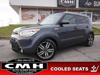 Used 2015 Kia Soul SX Luxury  NAV CAM ROOF LEATH CLD-SEATS HTD-S/W for sale in St. Catharines, ON