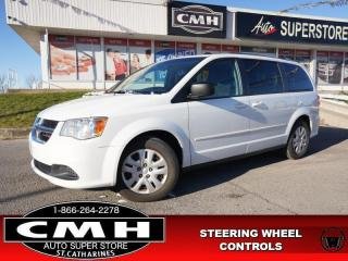 Used 2016 Dodge Grand Caravan SXT  STOW-N-GO PARK-SENS 7-PASS for sale in St. Catharines, ON