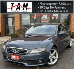 Used 2010 Audi A4 2.0T Premium Plus NAVI Back-Up Camera Sunroof Leather Heated Seats for sale in North York, ON