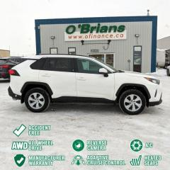 Used 2020 Toyota RAV4 LE - Accident Free! w/Mfg Warranty, AWD, Heated Seats, Backup Ca for sale in Saskatoon, SK