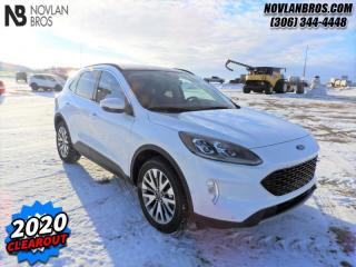 New 2020 Ford Escape Titanium Hybrid 4WD for sale in Paradise Hill, SK