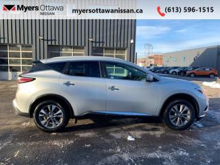 Used 2015 Nissan Murano SL  - Sunroof -  Navigation for sale in Ottawa, ON