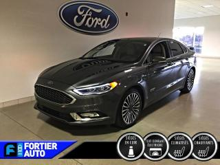 Used 2018 Ford Fusion Energi Titanium TA for sale in Montréal, QC