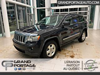 Used 2011 Jeep Grand Cherokee 4 RM 4 portes Laredo for sale in Rivière-Du-Loup, QC