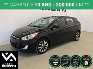 Used 2017 Hyundai Accent SE TOIT MAGS ** GARANTIE 10 ANS ** Économique, fiable et pratique! for sale in Shawinigan, QC