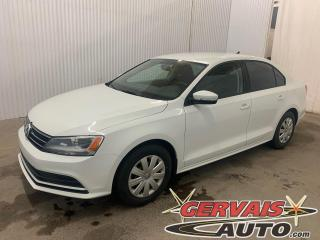 Used 2015 Volkswagen Jetta Trendline+ Caméra A/C Sièges Chauffants Bluetooth for sale in Trois-Rivières, QC
