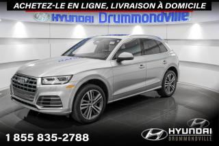 Used 2018 Audi Q5 PROGRESSIV S-LINE + GARANTIE + NAVI + WO for sale in Drummondville, QC