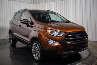 Used 2019 Ford EcoSport TITANIUM AWD CUIR TOIT NAV CAMERA DE RECUL for sale in St-Hubert, QC