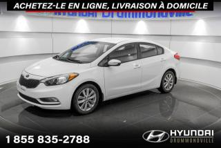 Used 2015 Kia Forte LX + MAGS + GARANTIE + A/C + CRUISE +WOW for sale in Drummondville, QC