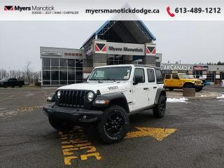 New 2021 Jeep Wrangler Willys  -  Uconnect - $308 B/W for sale in Ottawa, ON
