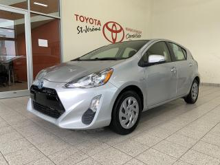 Used 2016 Toyota Prius c * HYBRID * CAMERA DE RECUL * BLUETOOTH * for sale in Mirabel, QC