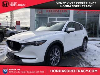 Used 2019 Mazda CX-5 GT AWD+cuir+toit+aff.tête haute for sale in Sorel-Tracy, QC