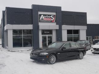 Used 2013 BMW 5 Series 528i xDrive + GPS + CUIR + TOIT + BLUETOOTH for sale in Sherbrooke, QC