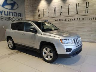Used 2012 Jeep Compass NORTH 4X4 AIR CLIM BANCS CHAUFF CRUISE for sale in Sherbrooke, QC
