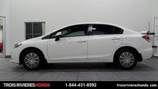 Used 2013 Honda Civic LX + MANUELLE + A/C + BLUETOOTH + CRUISE for sale in Trois-Rivières, QC