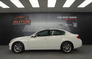 Used 2009 Infiniti G37 G37x AWD AUTO FULL ÉQUIPÉ MAGS CUIR TOIT OUVRANT for sale in Lévis, QC