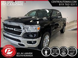 Used 2020 RAM 1500 Big Horn for sale in Rouyn-Noranda, QC