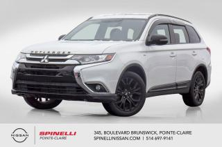 Used 2018 Mitsubishi Outlander SE AWD EDITION ANNIVERSAIRE CUIR / 7 PASSAGERS /  AWC / V6 /  / BLUETOOTH / APPLE CAR PLAY for sale in Montréal, QC