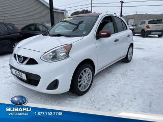 Used 2015 Nissan Micra ** S ** AUTOMATIQUE, CLIMATISATION for sale in Victoriaville, QC