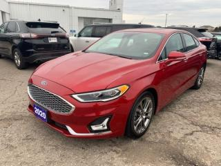 Used 2020 Ford Fusion Hybrid Titanium for sale in New Hamburg, ON